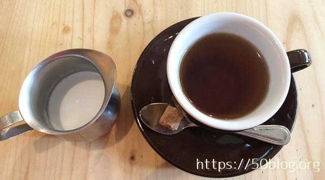 BUNZOランチほうじ茶